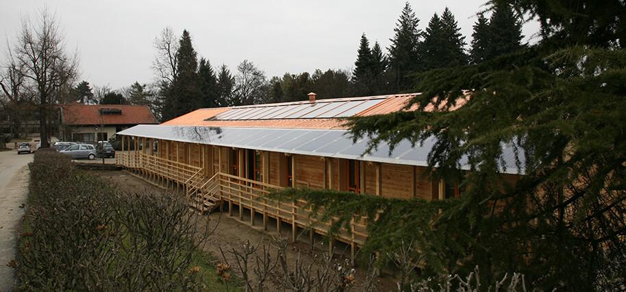 Realizzazione casa passiva in legno degmar - Casa passiva torino ...